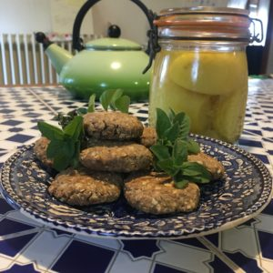 biscuits au sarrasin bergamote origan